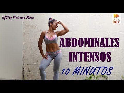 ABDOMEN PLANO EN 10 MINUTOS - Rutina Abdominales 10 minutos - BOOTCAMP - Rutina 407 - Dey Palencia - YouTube