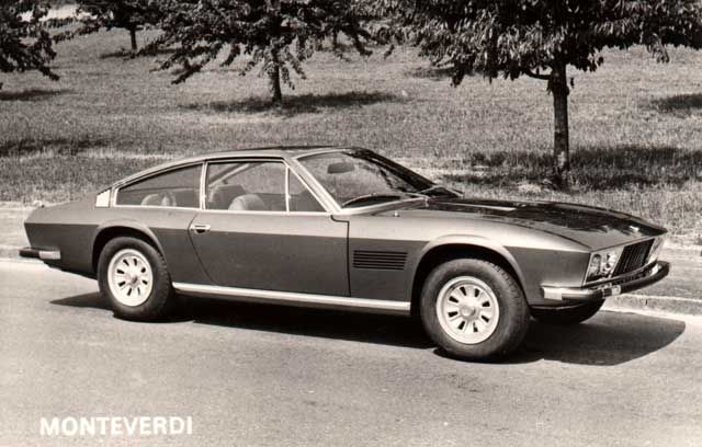 The Monteverdi Beautiful Swiss Sports GT With Chrysler Power. Several  Variations Of This Car Were Made And A 4 Door Quattroporte.