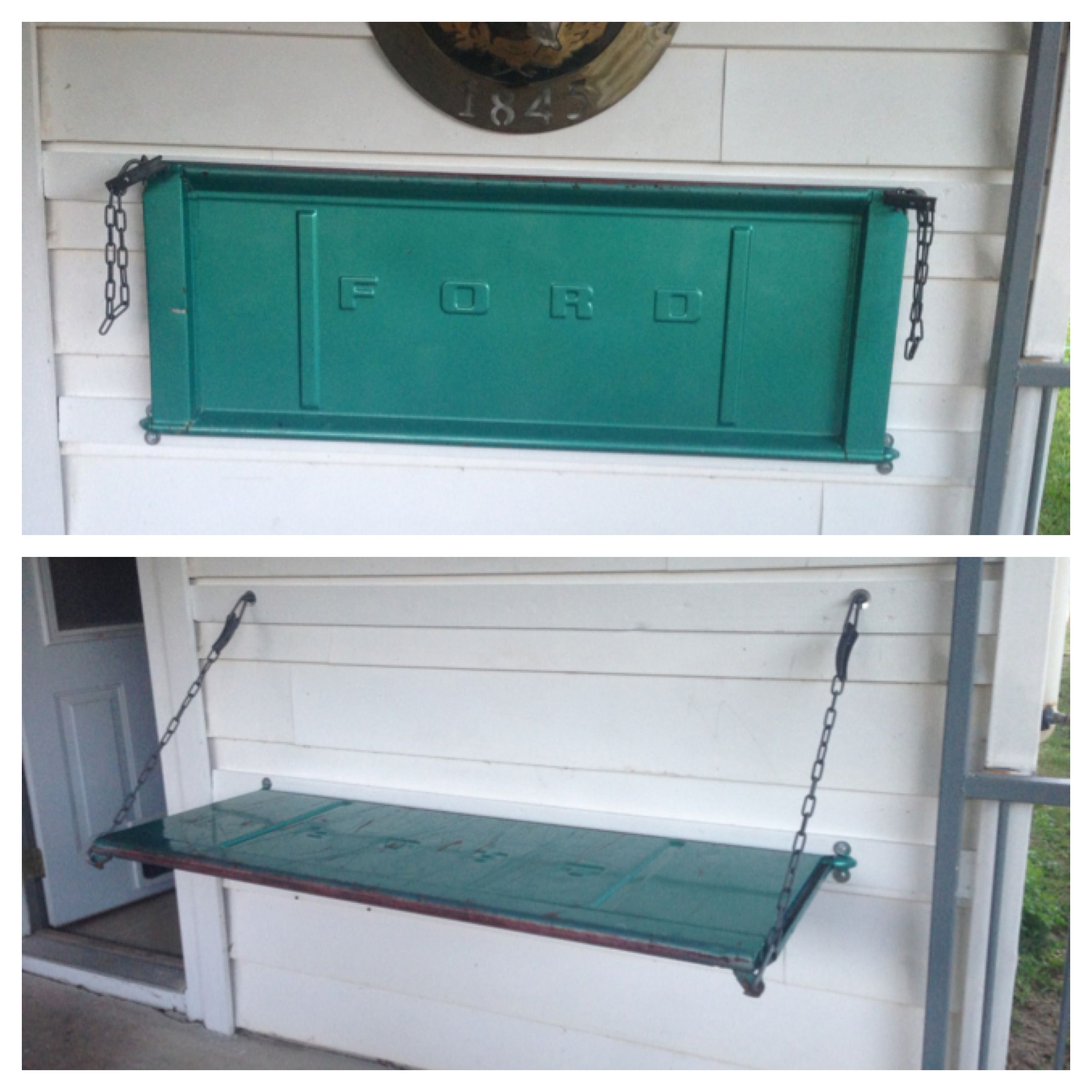 Pin By Olivia Garmon On Tail Gate Bench Diy Tailgate Bench Home Diy Truck Tailgate Bench