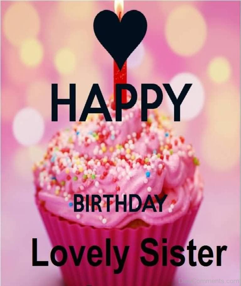 Sister Birthday Wishes Quote: Happy Birthday Quotes For Sister