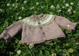 67abc1bfb concentric stripes baby cardigan free knitting pattern