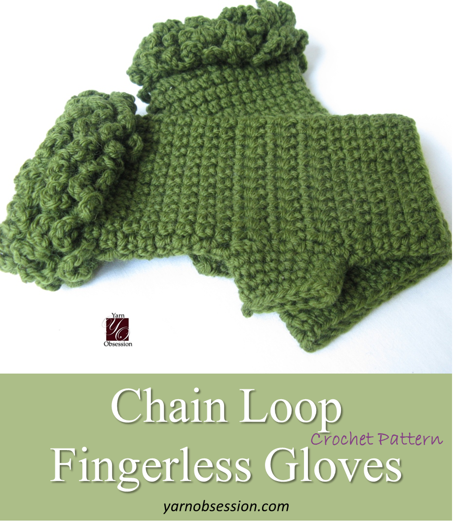Perfect! Check out this free crochet pattern of chain loop ...
