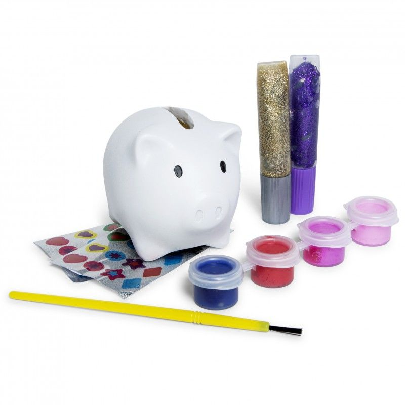 Melissa Doug Decorate Your Own Piggy Bank Five Below Piggy Bank Piggy Melissa Doug