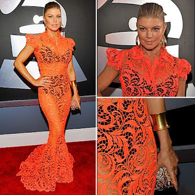 Fergie @ the Grammys