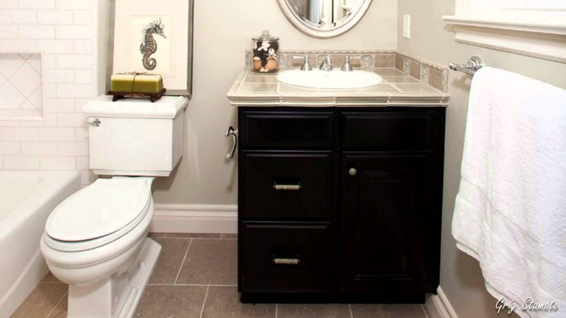 Small Bathroom Vanities Ideas With Drawers Double Sinks