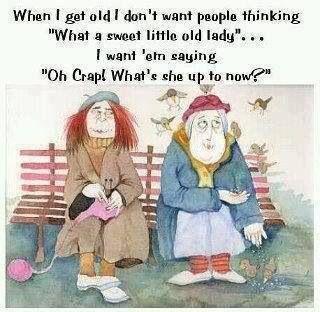 Old naughty ladies