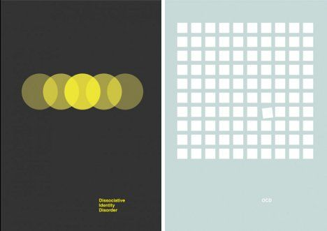 Doctored Designs: 6 Minimalist Mental Disorder Posters