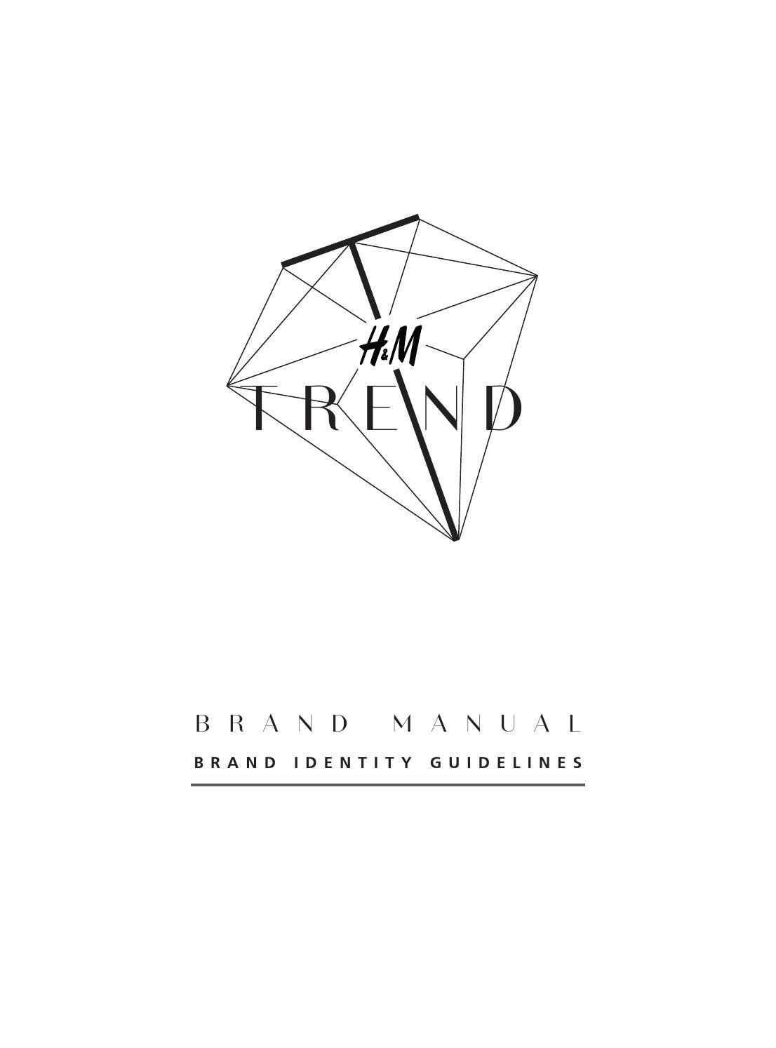 Brand manual h&m trend | Magazine layout | Pinterest | Brand manual ...