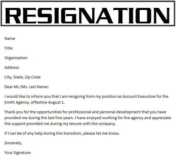Resignation letter surat pengunduran diri pengertian struktur resignation letter surat pengunduran diri pengertian struktur dan contohnya http stopboris Images