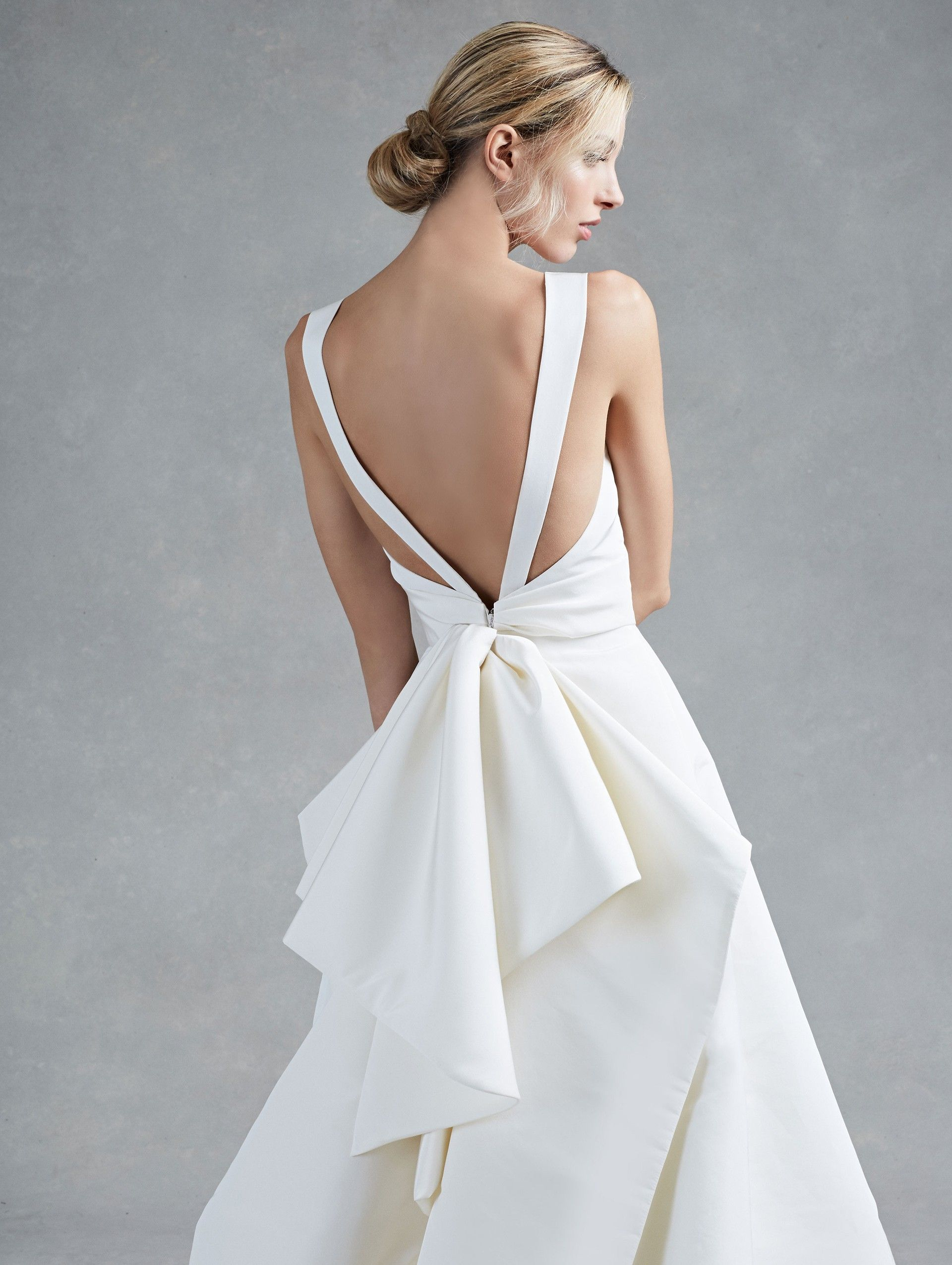 Runway Oscar De La A New York Herbst 2017 Bridal Kollektionen Fashion Shows Vogue