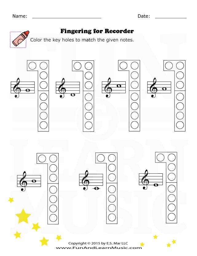 recorder fingering fl te pinterest musik musikunterricht und musikalisch. Black Bedroom Furniture Sets. Home Design Ideas