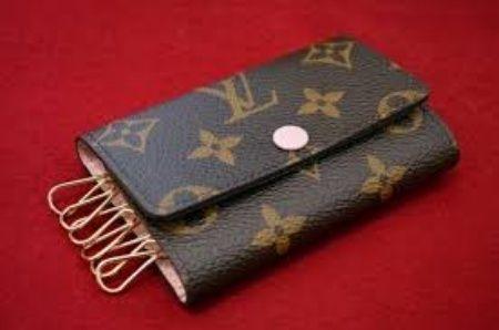 1bd2627665fc Louis Vuitton Keychains   Bag Charms popular Louis Vuitton Louis Louis  Vuitton Monogram key case 5