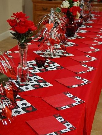 Image result for las vegas casino party table