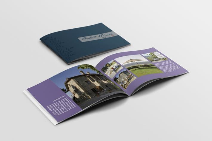 Booklet Brochure Template By Andre28 Design Inspiration Ideas