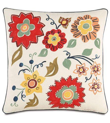 Studio 773 Pillows By Eastern Accents Floating Flora Throw Pillows Garden Throw Pillow Botanical Pillow