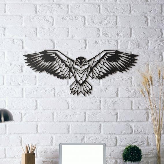 Découvrez nos aigle en décoration murale métal pour prendre votre envol sur artwall and co