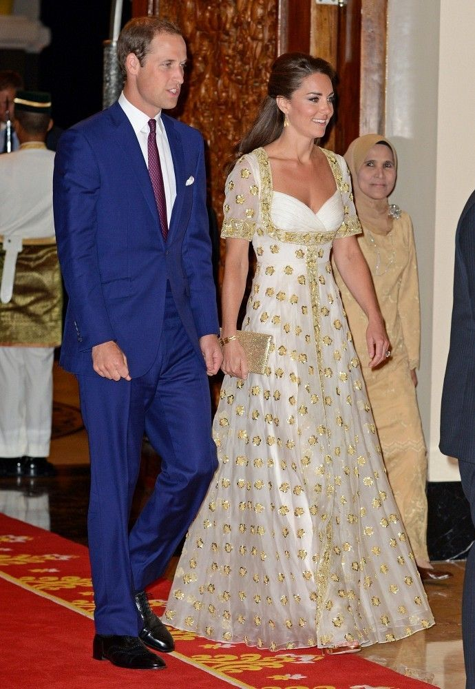 Kate middleton robe de soiree