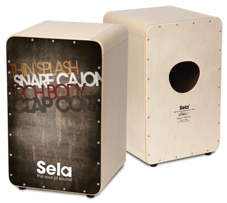 Sela CaSela Vintage Grey - Sela Cajon - The Soul Of Sound