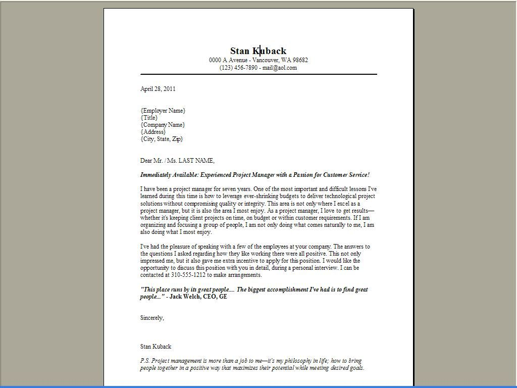 Jimmy Sweeney Cover Letter Examples Chemist   Google Search