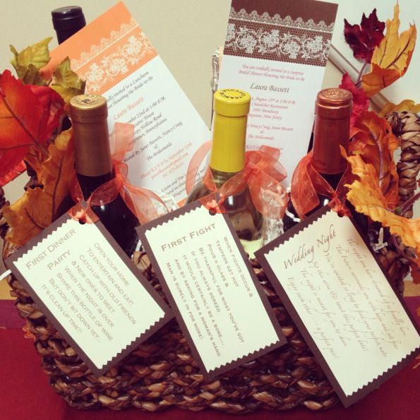 Thoughtful Wedding Gift Ideas: Brilliant Diy Anniversary Gifts For Him: The Wine Basket