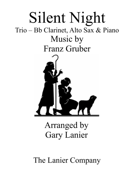 Gary Lanier: SILENT NIGHT (Trio