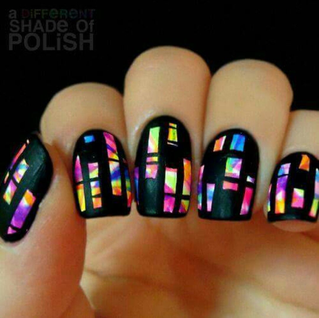 Pin by Camille Chen on Nails Nails Nails | Pinterest | Easy nail art ...