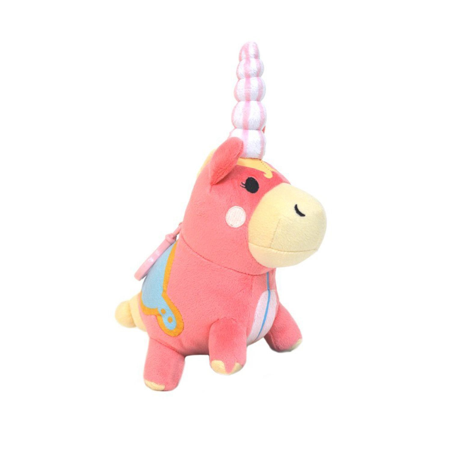 Welcome to Pyroland, the world through the Pyro's eyes and the home of the Balloonicorn! Officially licensed from the hit video game Team Fortress 2 comes the Balloonicorn Mini Plush! Measuring 6-inch