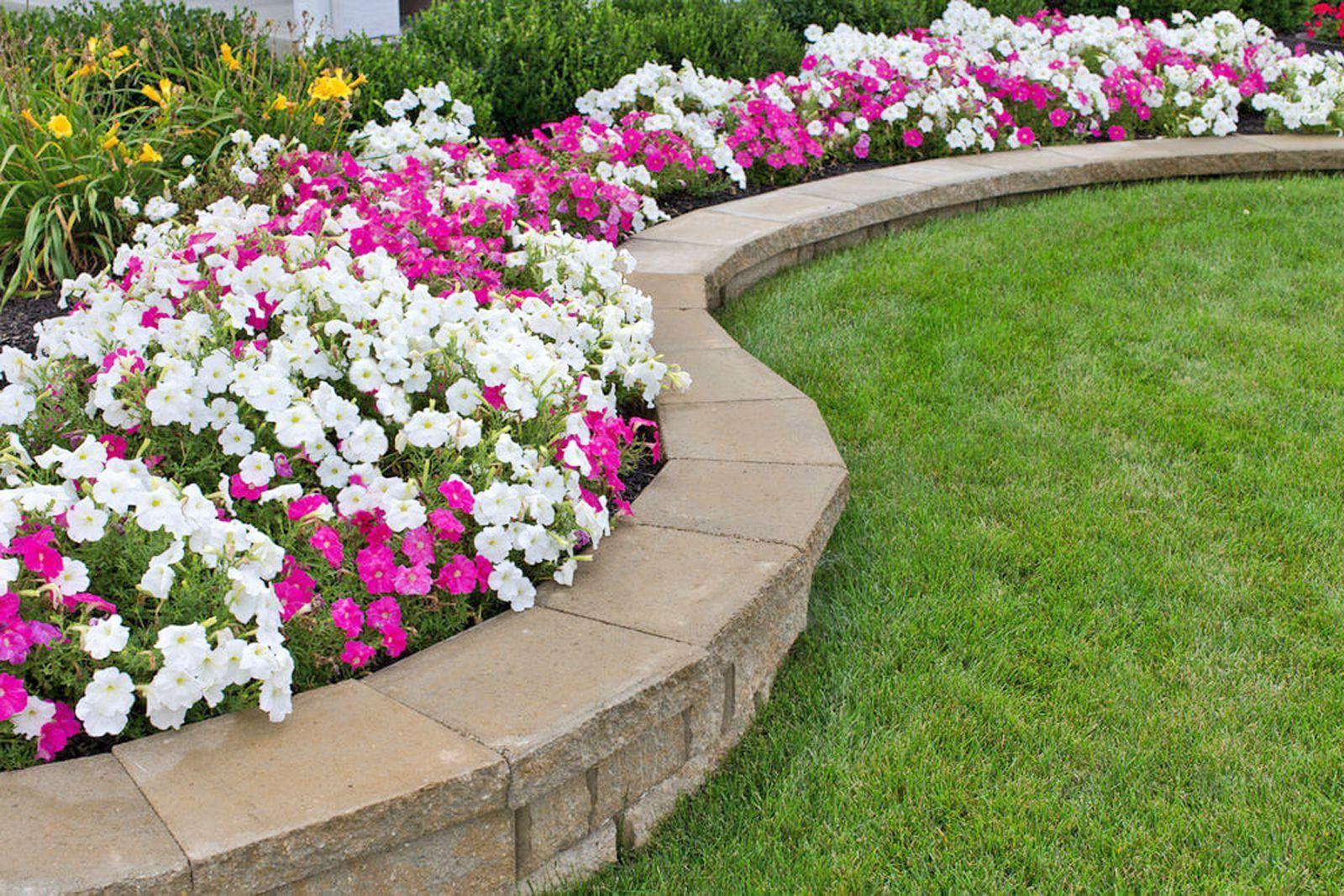 15 Edging Ideas To Make Your Garden Pop Backyard Retaining Walls