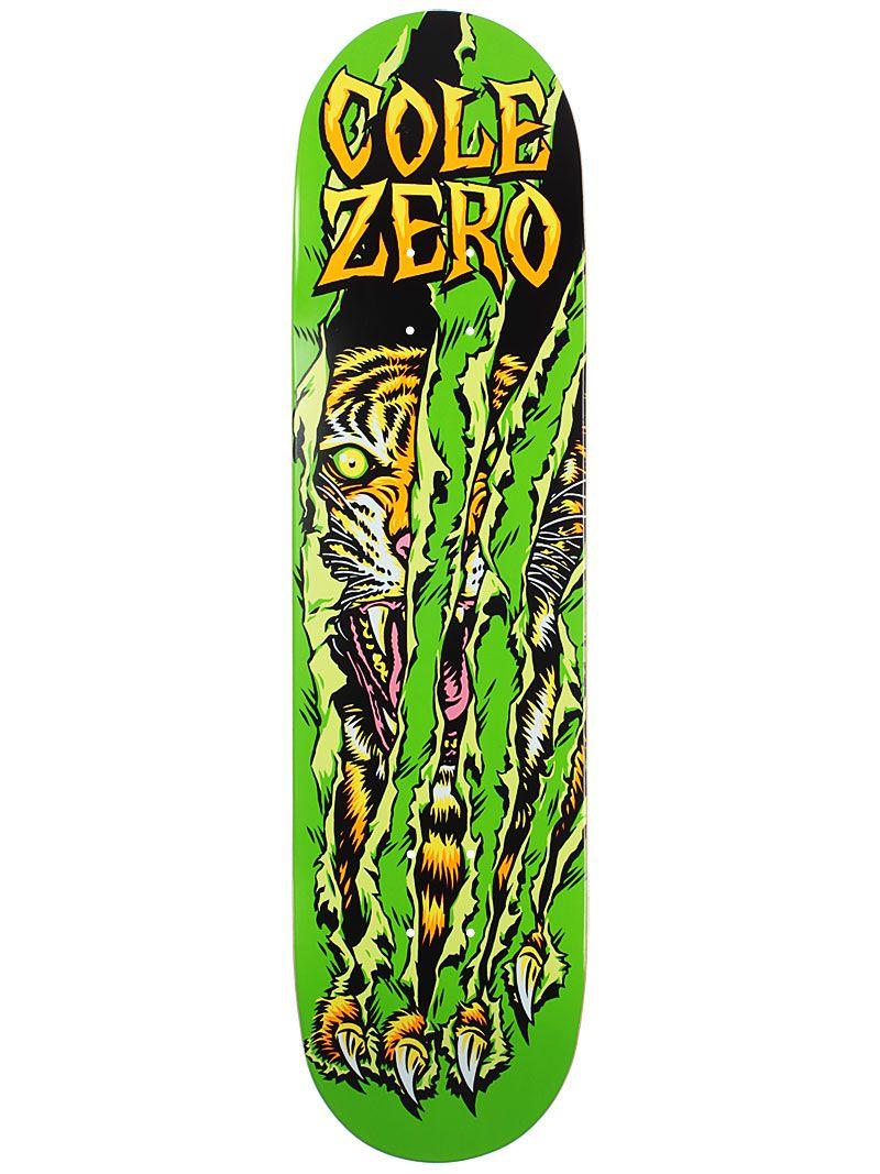 #Zero #Chris #Cole #Tiger Claw DuraSlick #Skateboard #Deck ...