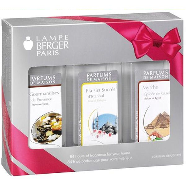 Festive Trio Pack 2013 From Lampe Berger At Style Of Life Limited Edition 3 X 180ml Fragrances For The Festive Season T Christmas Fragrance Fragrance Gifts