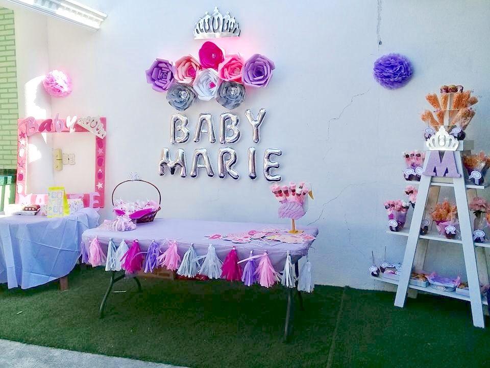 Ideas Faciles Para Decorar Un Baby Shower Nina Baby Shower Nina Baby Shower Decor