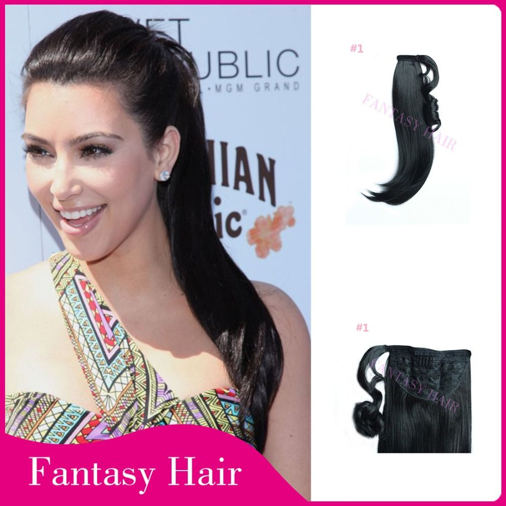 Find More Ponytails Information About Hair Weave Heat Resistant Long