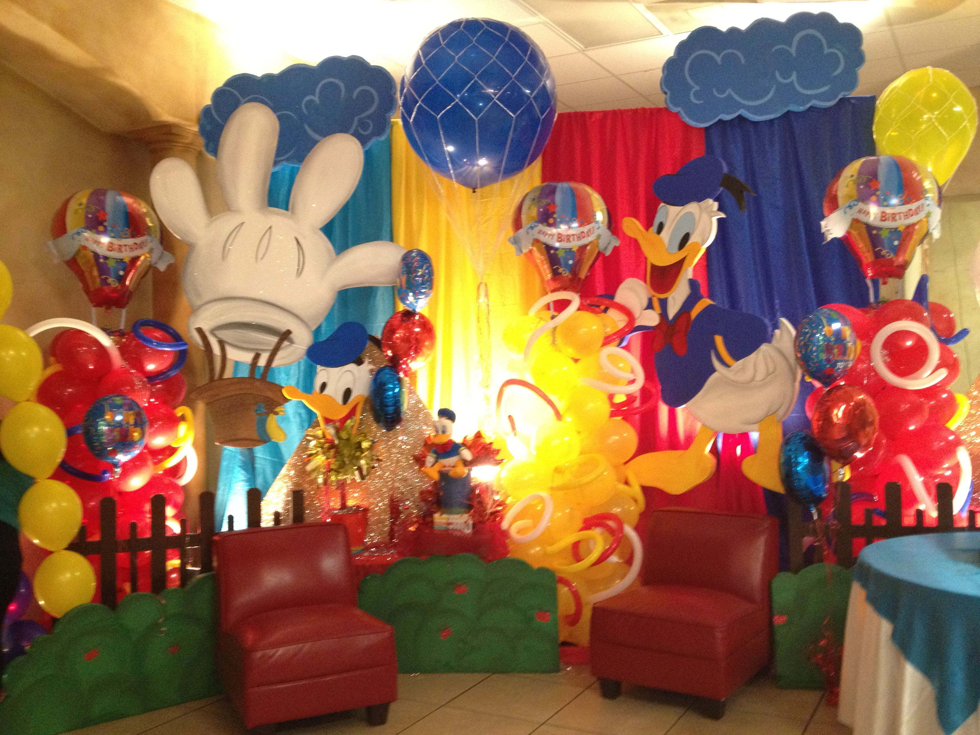 Donal Duck Decoration Donald Duck Party Donald Duck Birthday Party Duck Birthday
