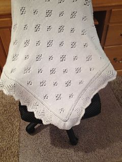 a9cd54d4b The Royal Look Knitted Baby Shawl pattern by Spotlight Australia ...