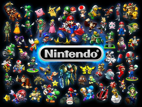 Video Games Wallpaper Video Game Collages Video Games Nintendo Nintendo Characters Video Games