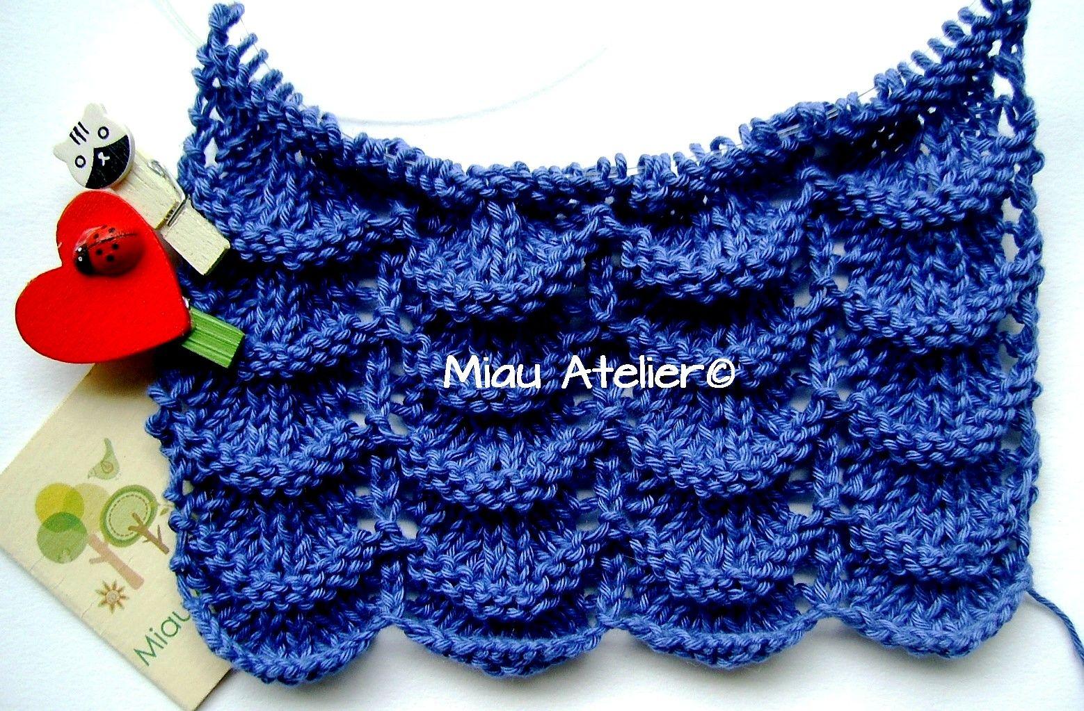 Ponto super fácil de tricô que você aprende lá na página hoje: https://www.facebook.com/paginamiauatelier #artesanato