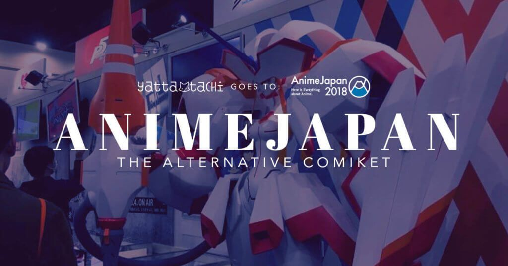 Animejapan The Alternative Comiket Anime Japanese Pop Culture
