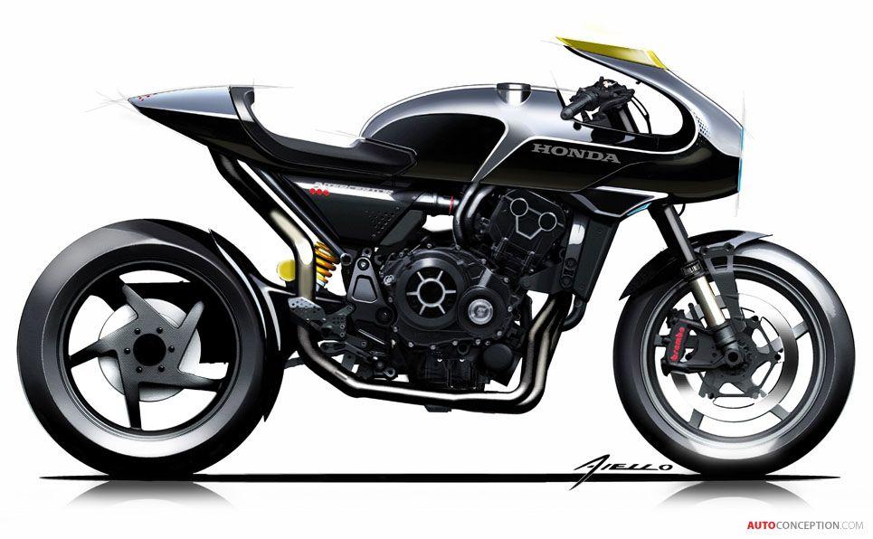 2017 Honda CB4 'Interceptor' Concept