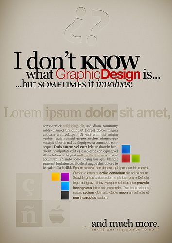 50 excellent posters about design design was here lorem ipsumwhat is graphic