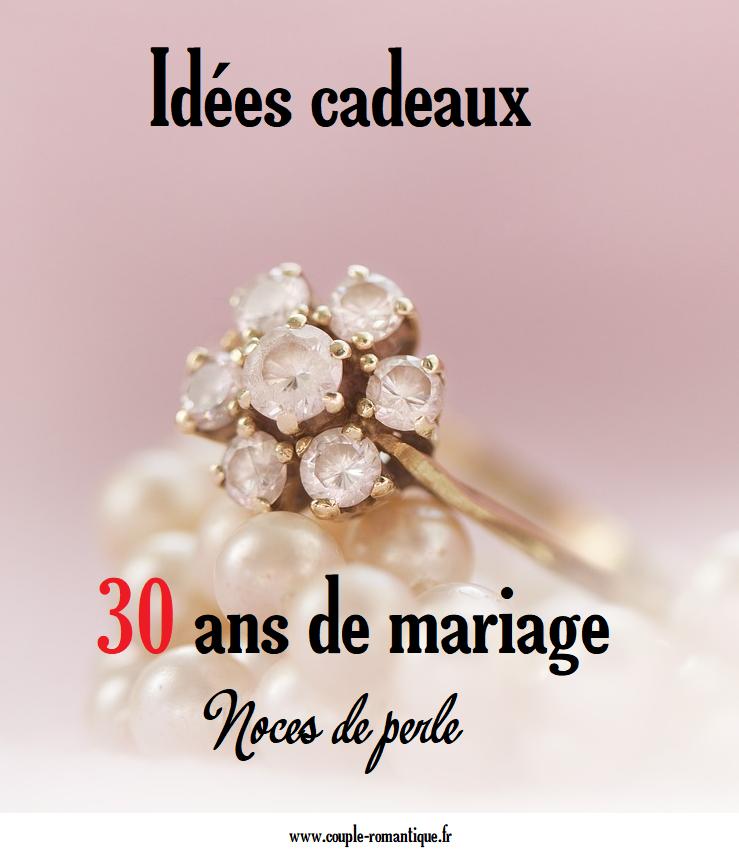 Trouvez Une Idée De Cadeau Pour 30 Ans De Mariage Diy