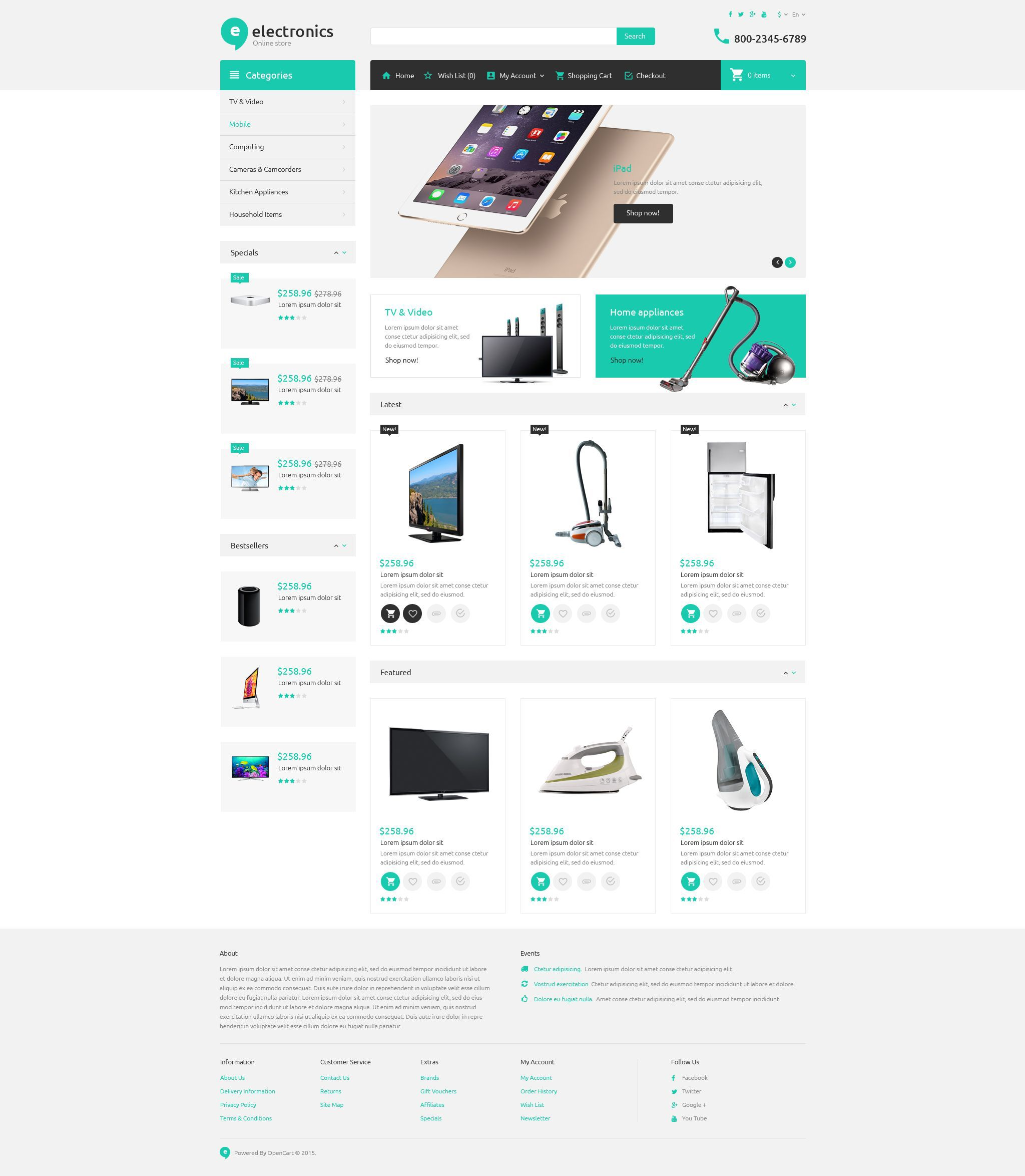 ecommerce template free