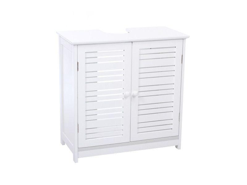 Meuble dessous de lavabo blanc - Vente de INSTANT Du0027O - Conforama