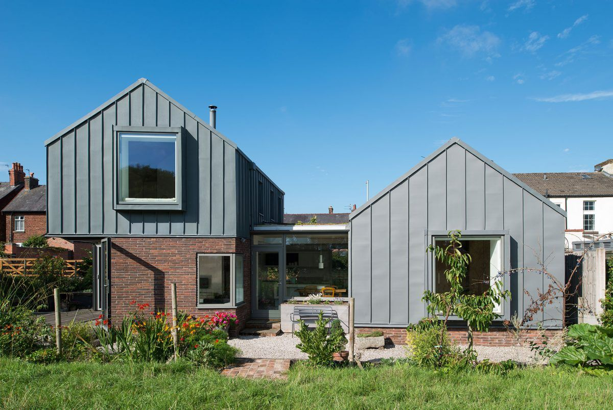 Zinc House New Build House Proctor And Shaw Architects