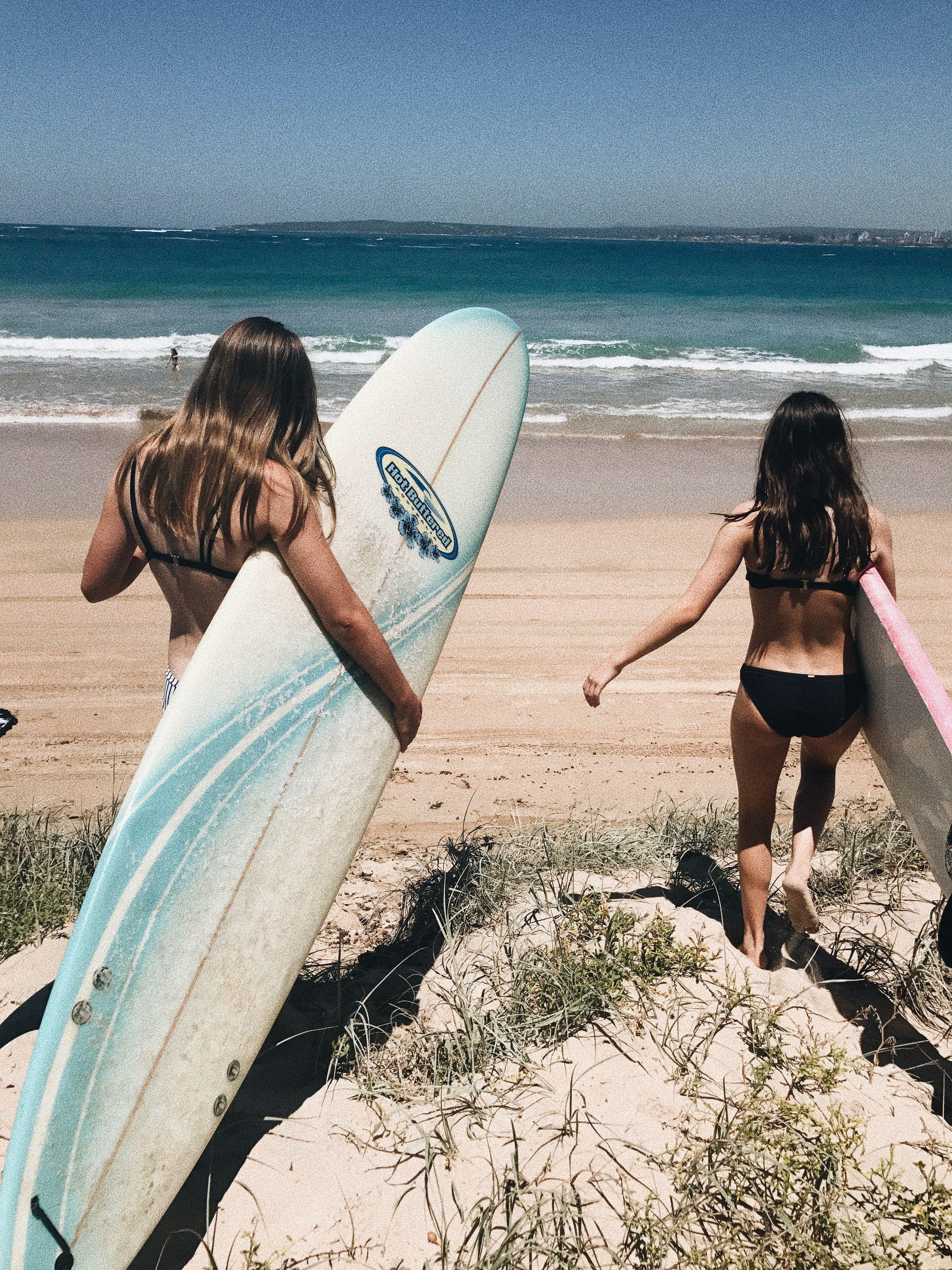 Hawaiian Surfboard Selfie Frame Poster