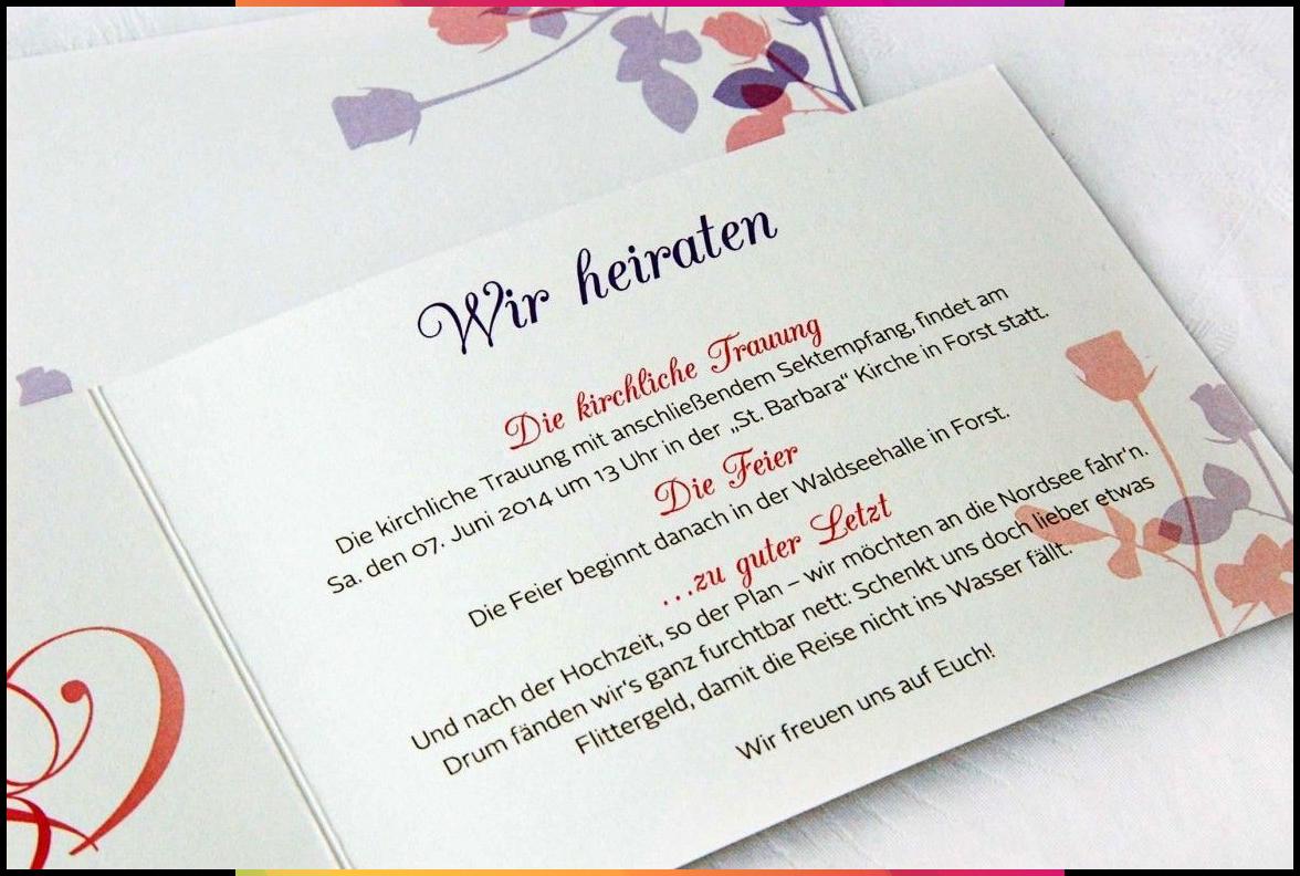 Einladungskarten Hochzeit Text Standesamt #