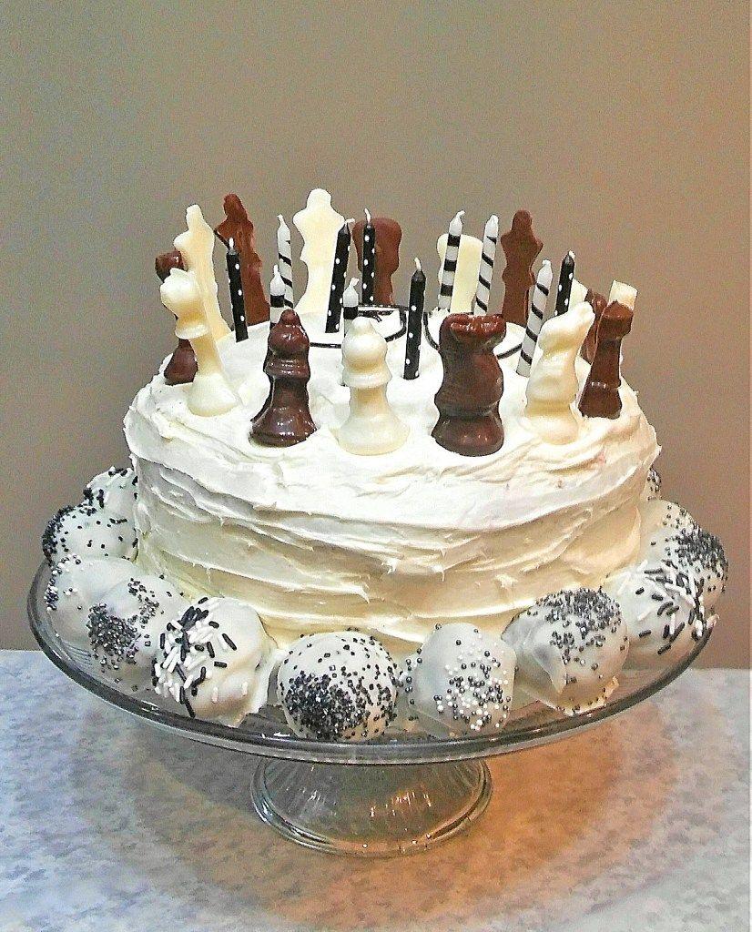 A chessthemed birthday party this blue dress birthday