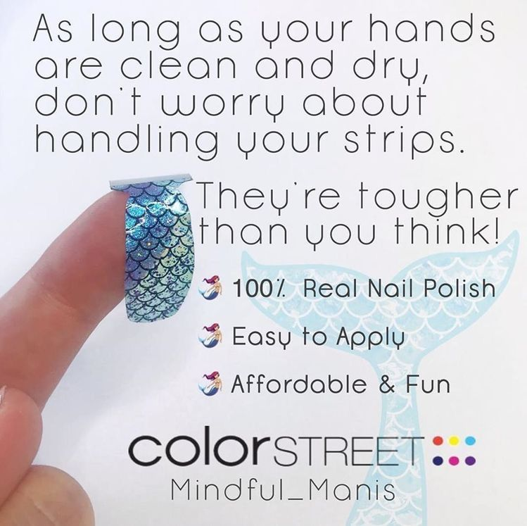 Color street application tips in 2020 color street nails