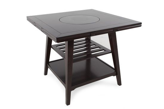 Winners Only Parkside Round 2 Square Drop Leaf Table With Lazy
