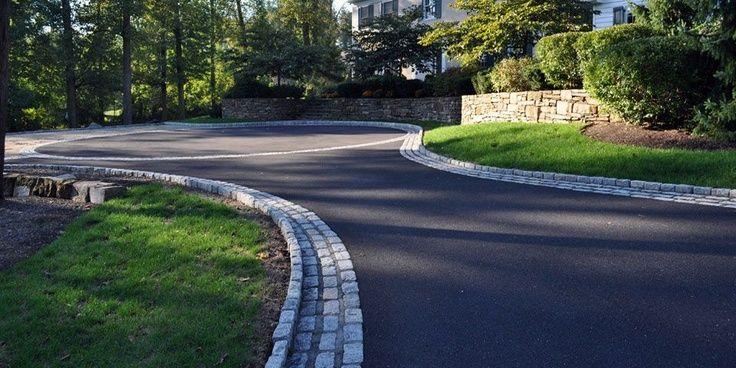 Asphalt Driveway Landscaping Ideas In 2019 Asphalt