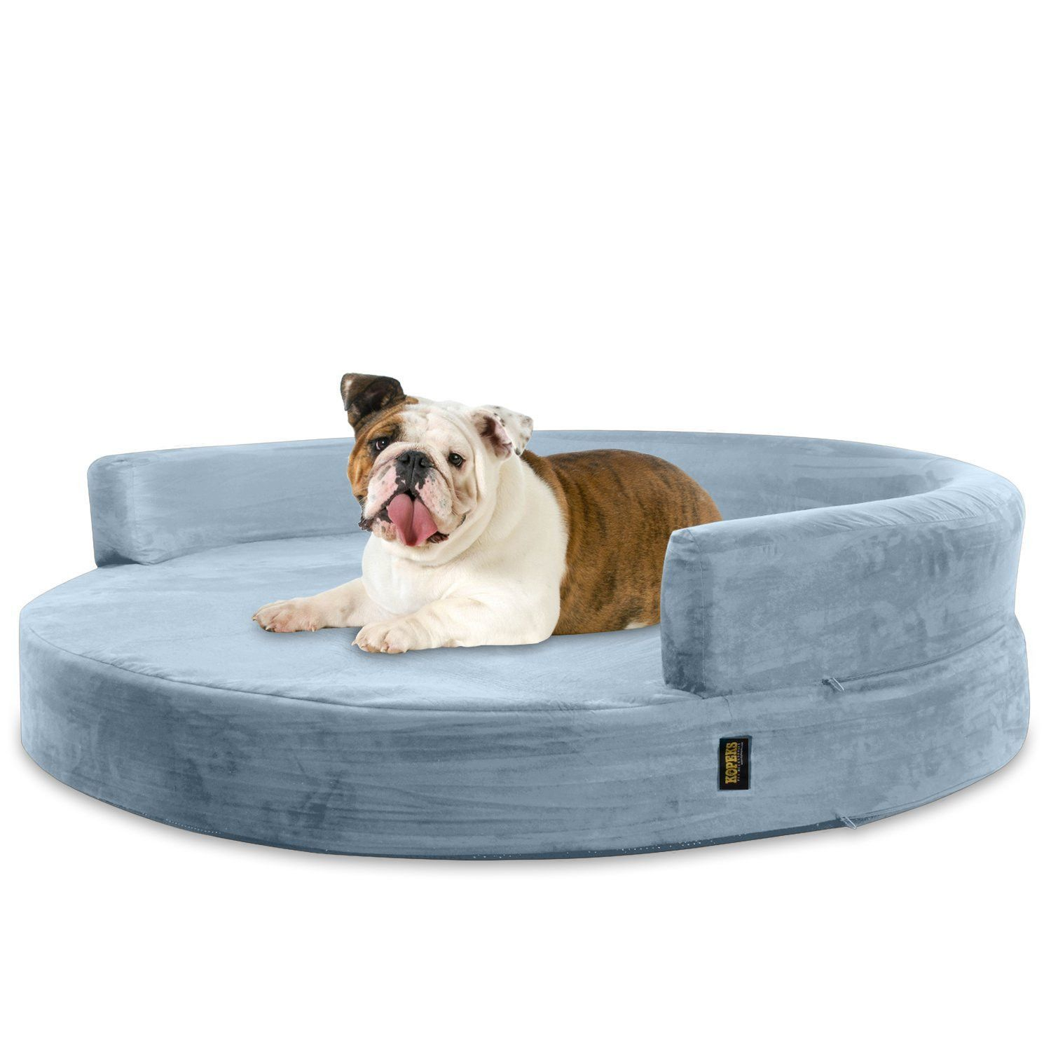 Dog Bed Round Deluxe Orthopedic Memory Foam Sofa Lounge